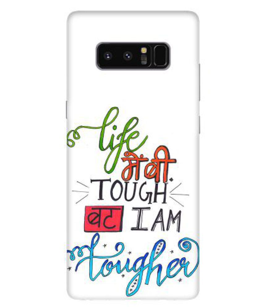 Samsung Galaxy Note 8 Printed Cover By Emble