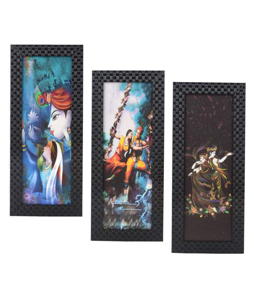 RSGIFTS4U Plastic Multicolour Collage Photo Frame - Pack of 1