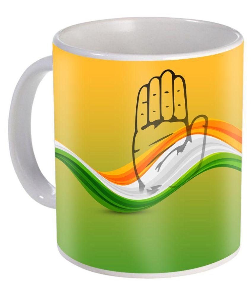 skytrends congress party coffee mug ceramic coffee mug 1 pcs 350 ml rh snapdeal com