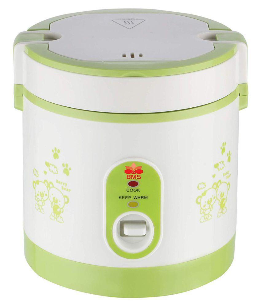 BMS Lifestyle Multipurpose Portable Mini Travel Multi-Function 0.5 Ltr Rice Cookers