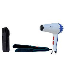 StyleManiac Combo of Hair Straightener,Cordless Trimmer And Hair Dryer ( Multi )