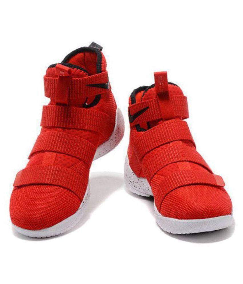 check out c3b17 754d5 Nike Nike LEBRON ZOOM SOLDIER 11 University Red Midankle Male Red