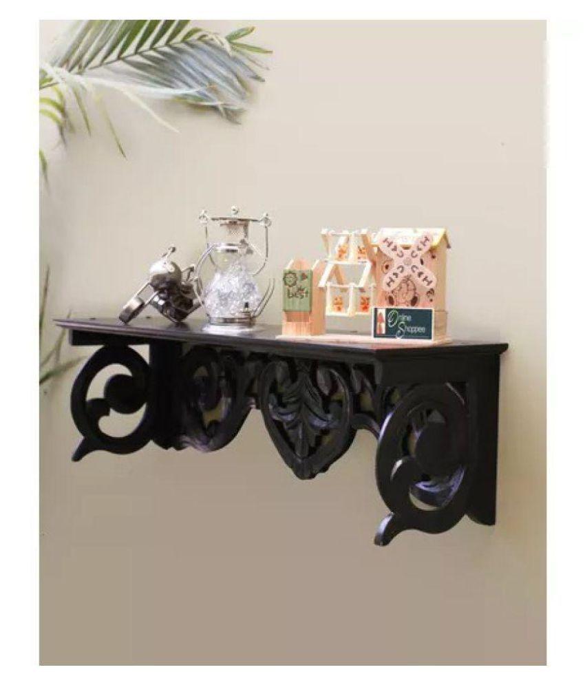 Onlineshoppee MDF Wall Decor Wall Shelf Rack/Bracket