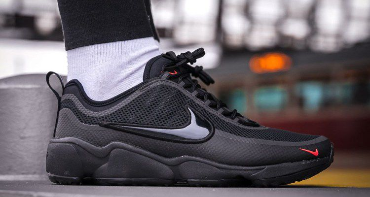 c747062a88d1 Nike ZOOM SPIRIDON ULTRA TRIPLE BLACK Black Running Shoes - Buy Nike ...