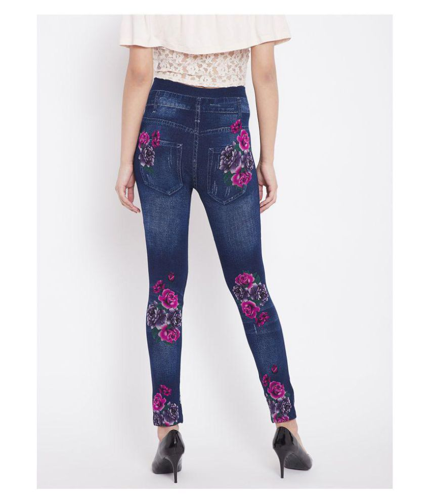 61f6c281602e17 Buy Camey Denim Jeggings - Blue Online at Best Prices in India ...