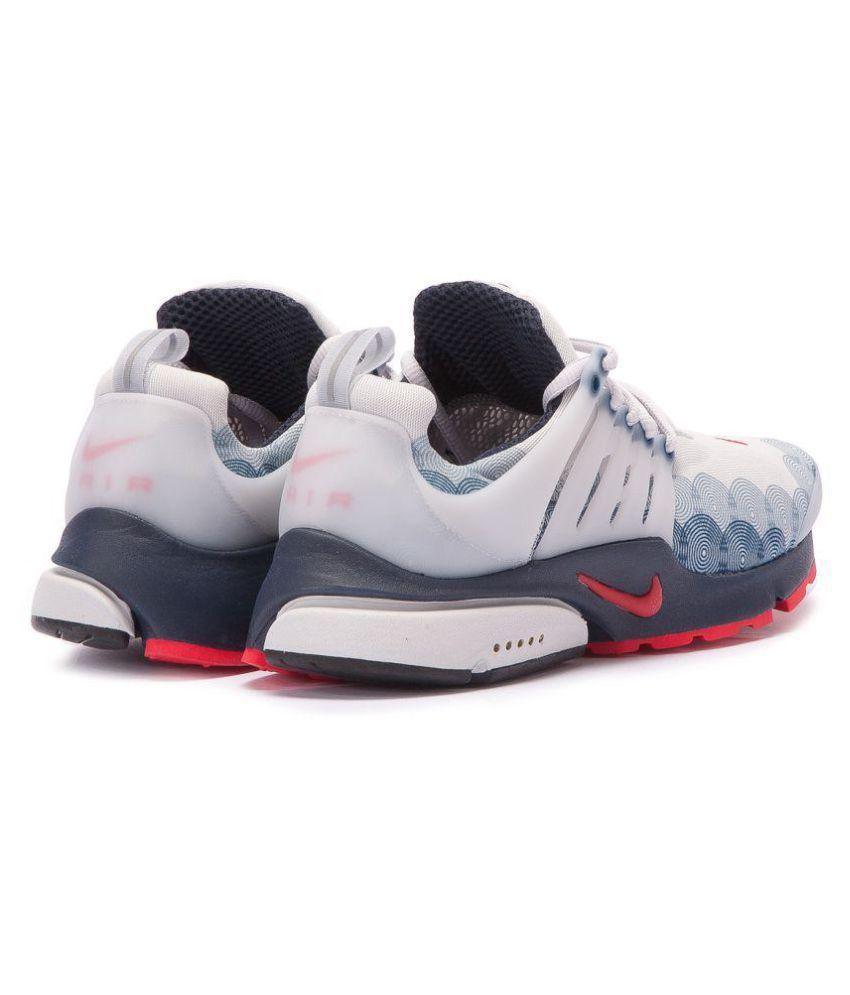 so cheap buy online cute cheap Nike Air Presto U.S.A White Running Shoes