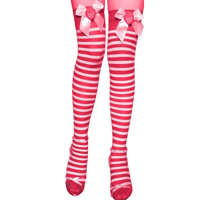 F 4 FASHION Fashion Presents  Pink Color Stockings.