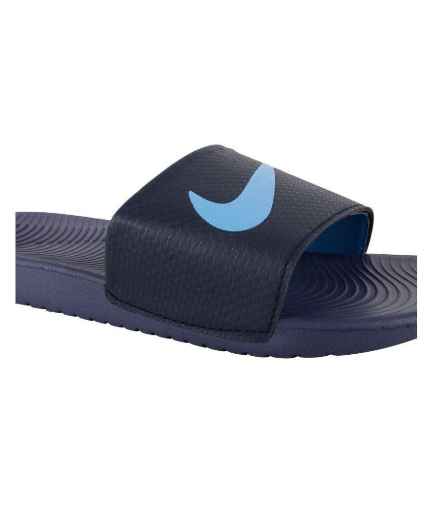 132715c3e674 Nike kawa slide Blue Daily Slippers Nike kawa slide Blue Daily Slippers ...