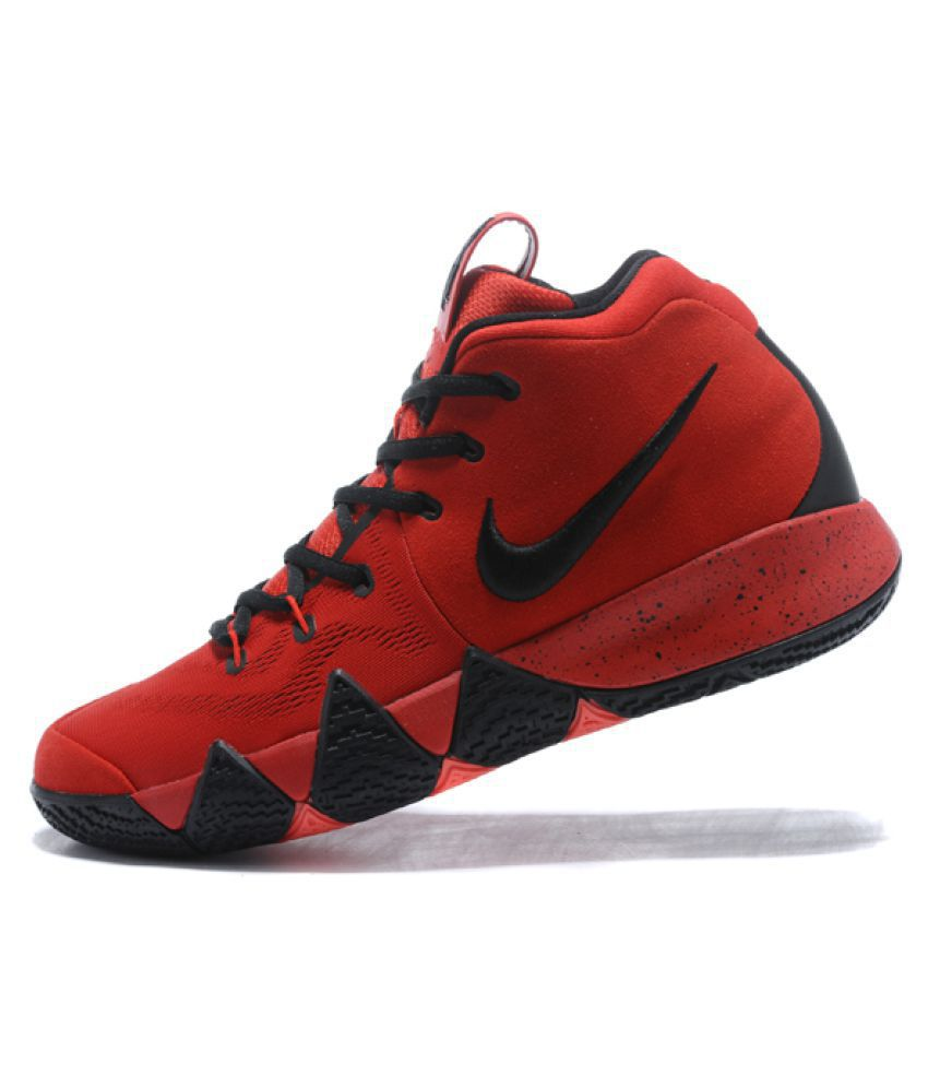 reputable site aa625 a1e9d Nike Kyrie 4 University Red Basketball Shoes