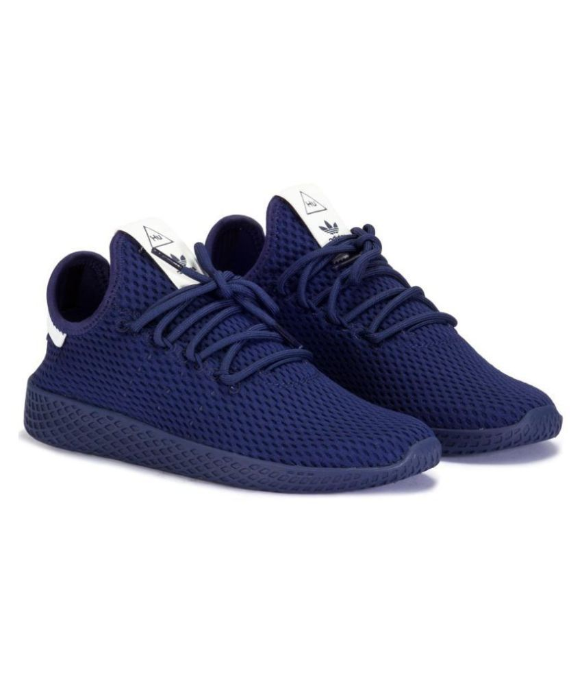 Adidas Pharrell Williams Tennis HU Navy Running Shoes ...