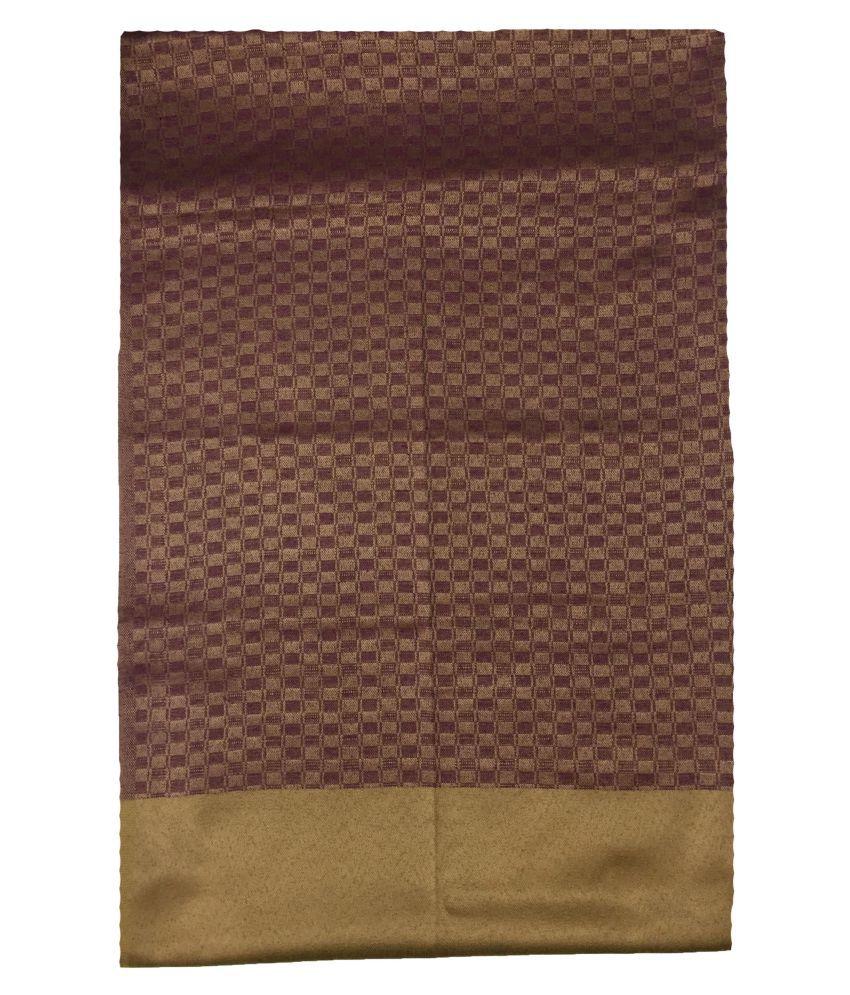 kashmiri shawls Beige Crochet Shawl