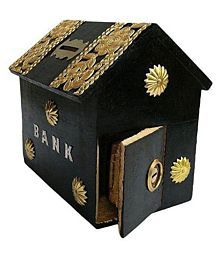 wood arts wooden toy money bank/coin bank