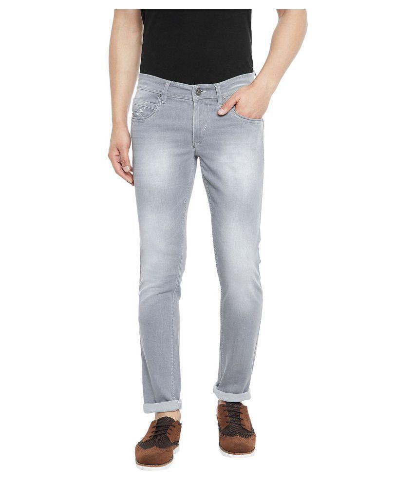 Canary London Grey Skinny Jeans