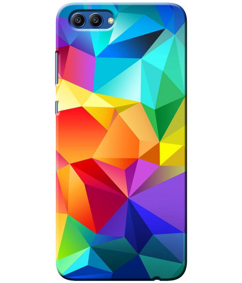 Huawei Honor View 10 Printed Cover By Case King fadeproof