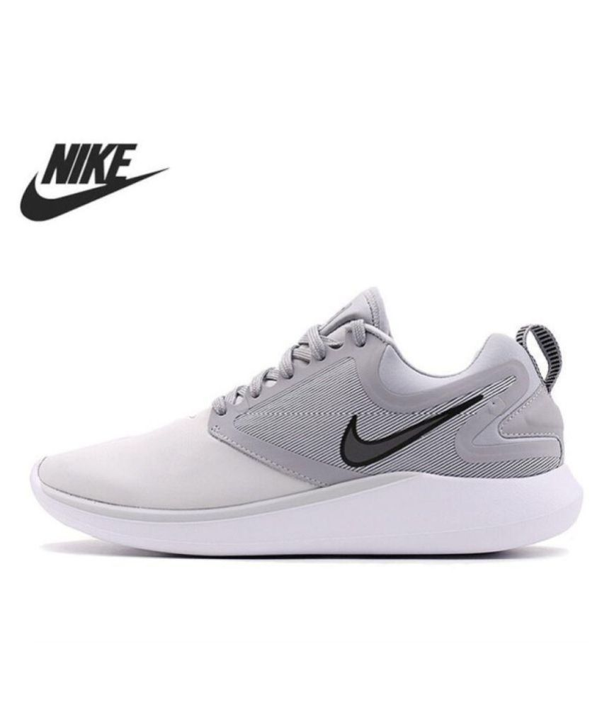 3967da0f959d Nike Lunarsolo Grey Running Shoes - Buy Nike Lunarsolo Grey Running Shoes  Online at Best Prices in India on Snapdeal