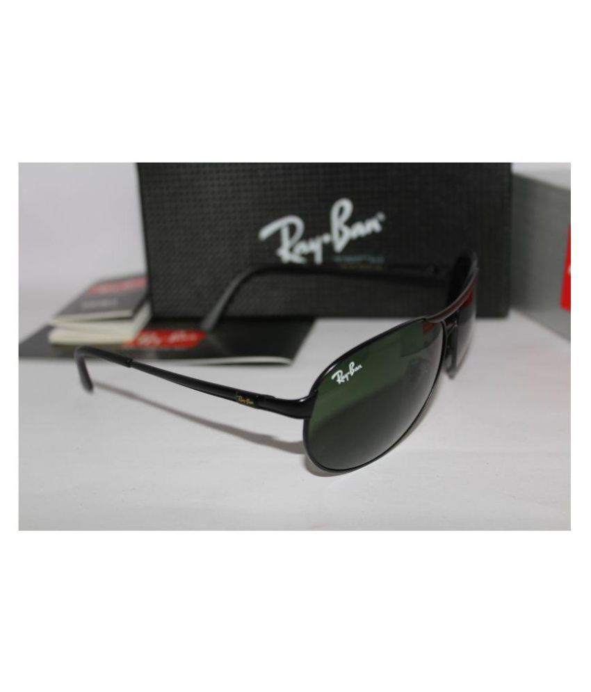 306fb20fc3a3 Ray Ban Sunglasses Green Aviator Sunglasses ( RB 3351 ) - Buy Ray ...