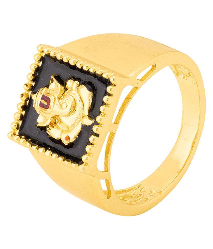 Dare by Voylla Spiritual Saga Ganesha Ring for Men