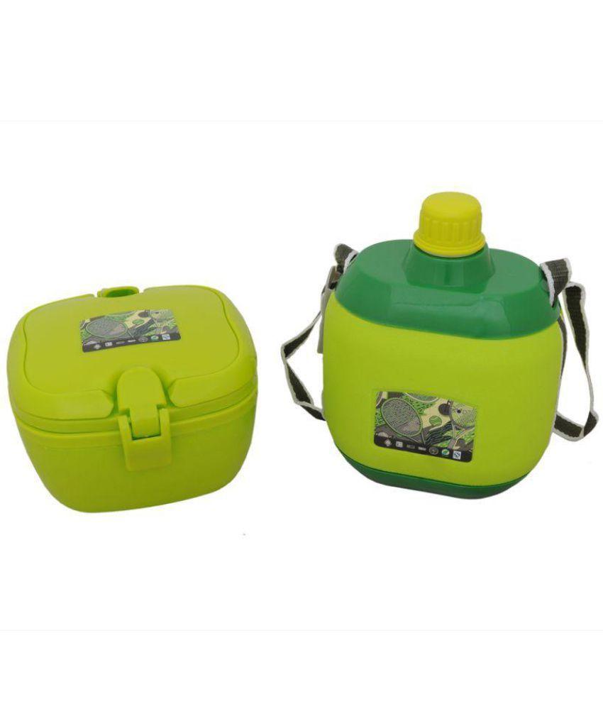 banesco Green Polypropylene (PP) Lunch Box