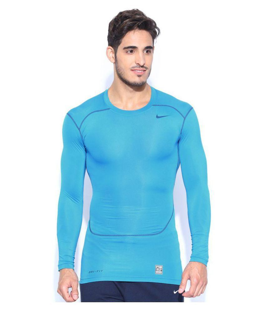 Nike Blue Round T-Shirt Pack of 1
