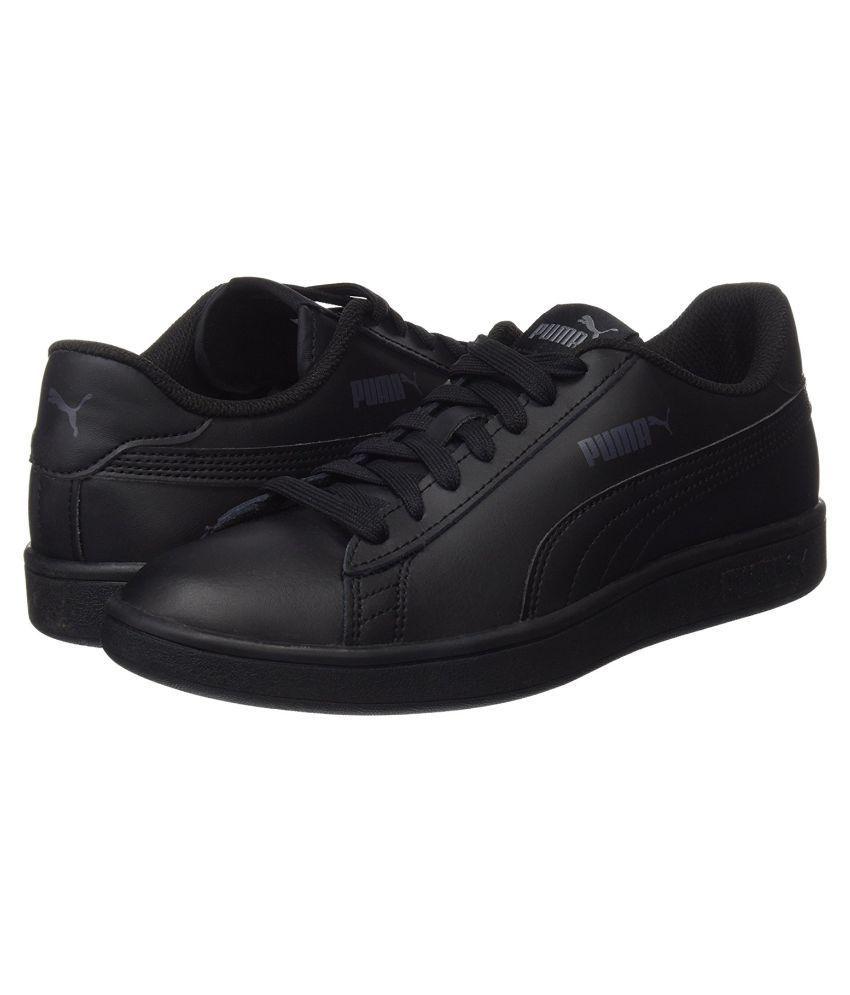 2bbee044f564 Puma Smash v2 L Sneakers Black Casual Shoes - Buy Puma Smash v2 L ...