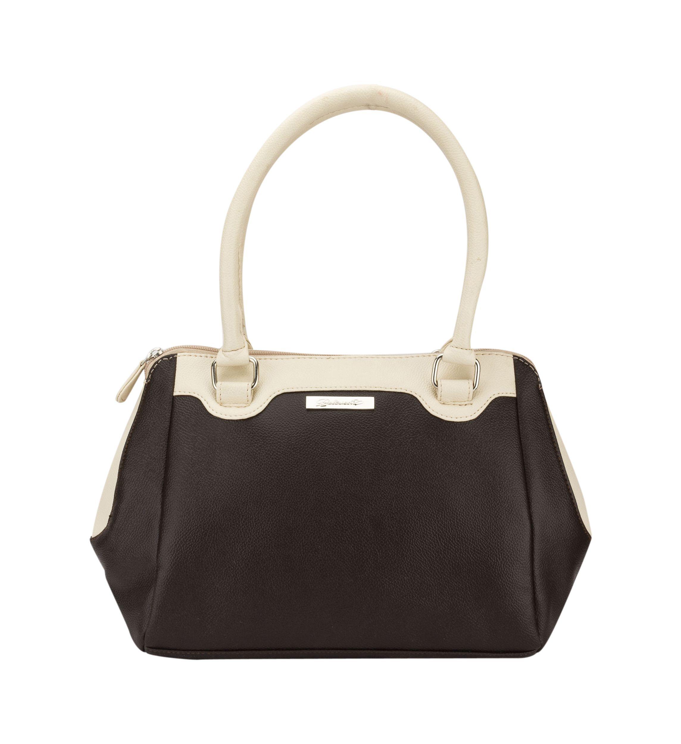 Beloved Brown Faux Leather Shoulder Bag