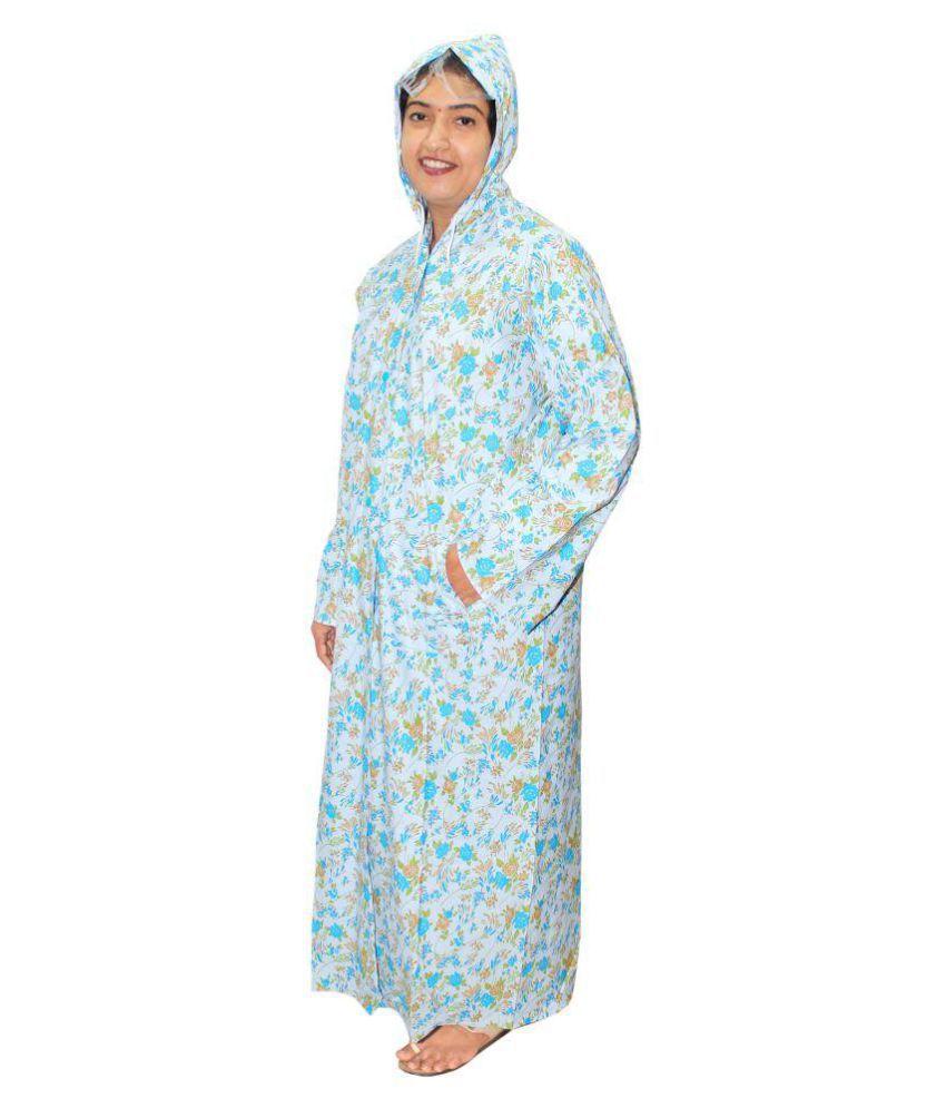 Goodluck Long Raincoat - Multi Color