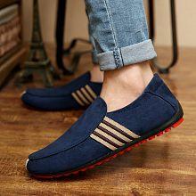 New Women Men Casual Flat Shoes Breathable Peas Shoes