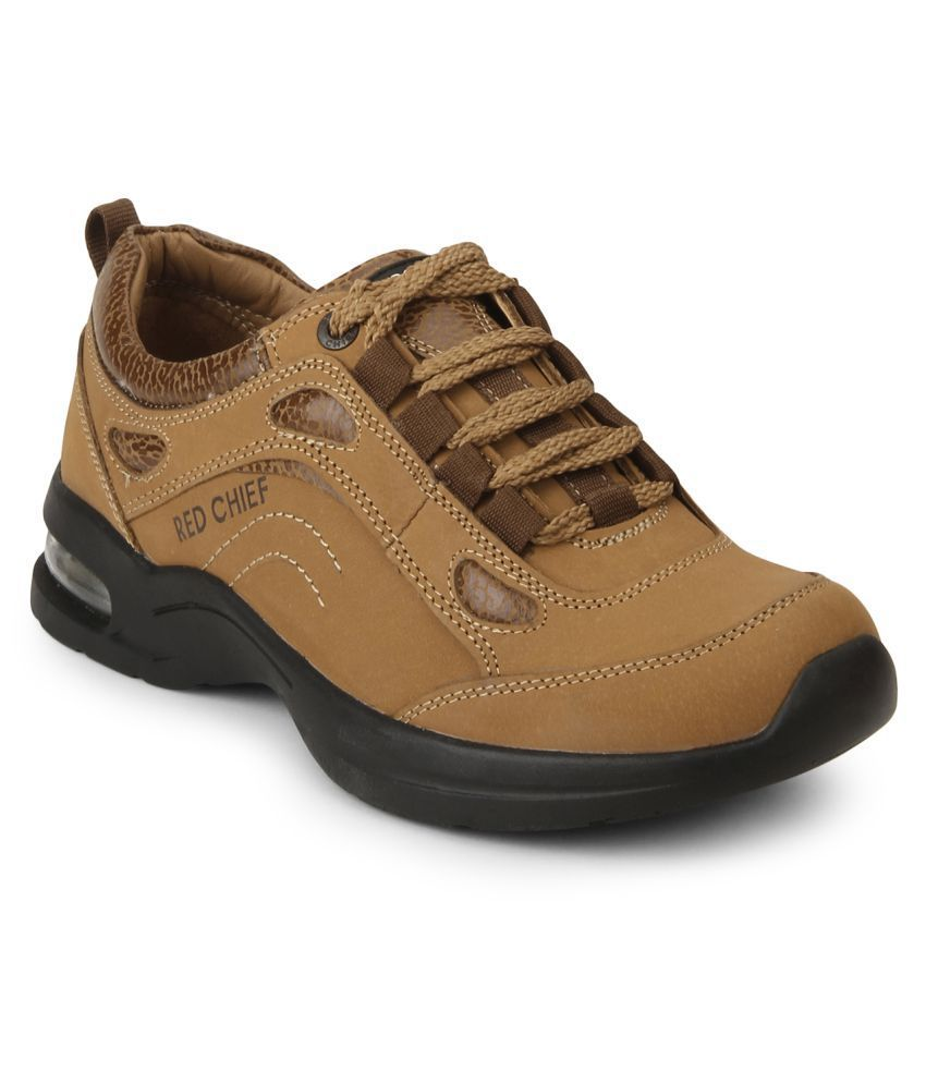 Red Chief RC1975 022 Outdoor Brown Casual Shoes