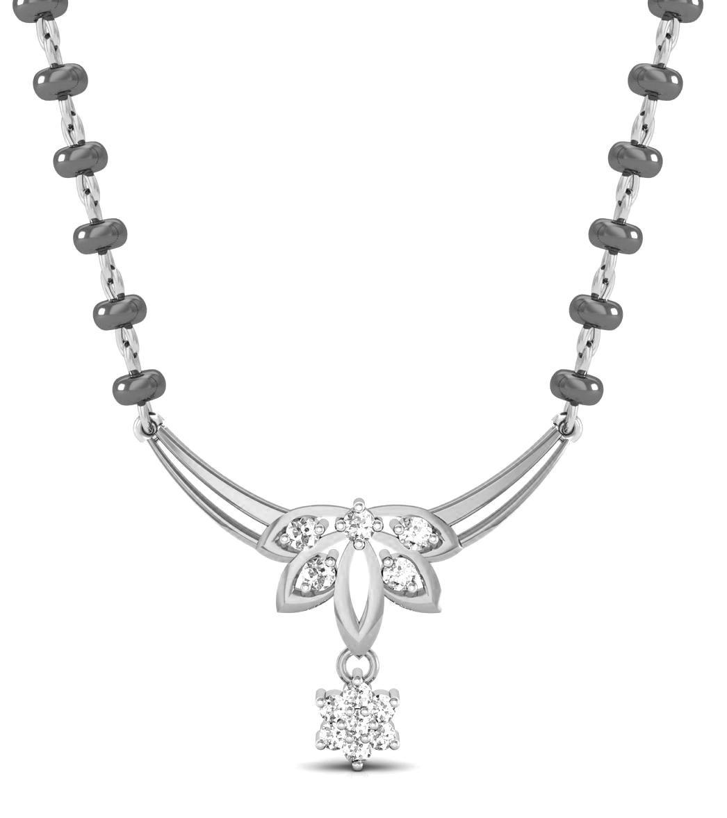 Avsar 18k Gold Diamond Mangalsutra