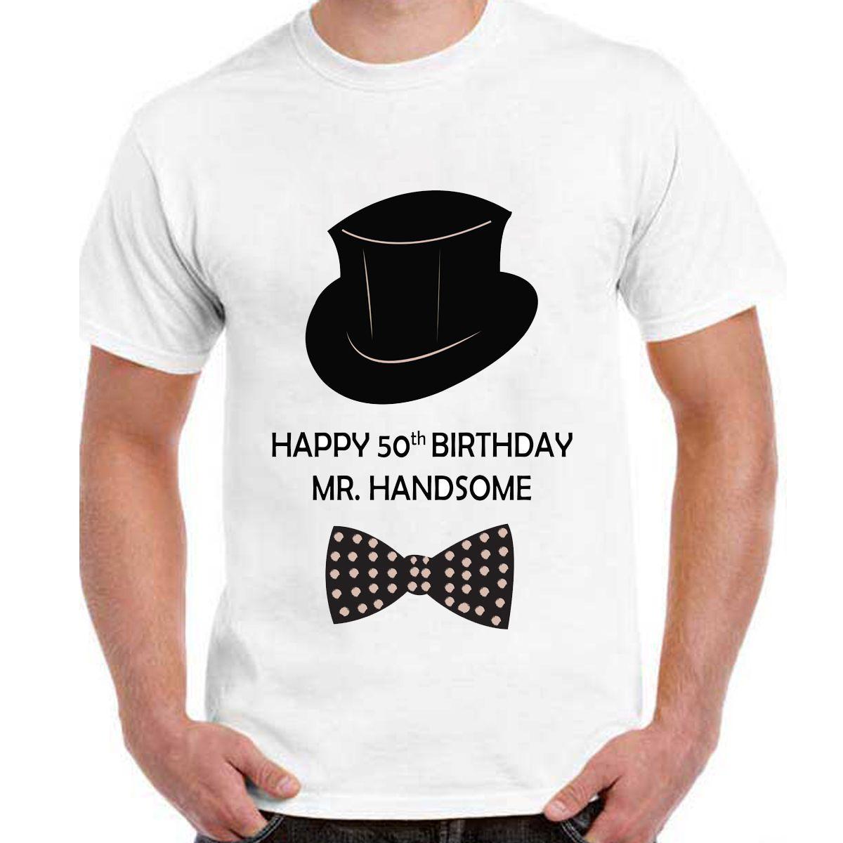 Tshirt on 50th Birthday