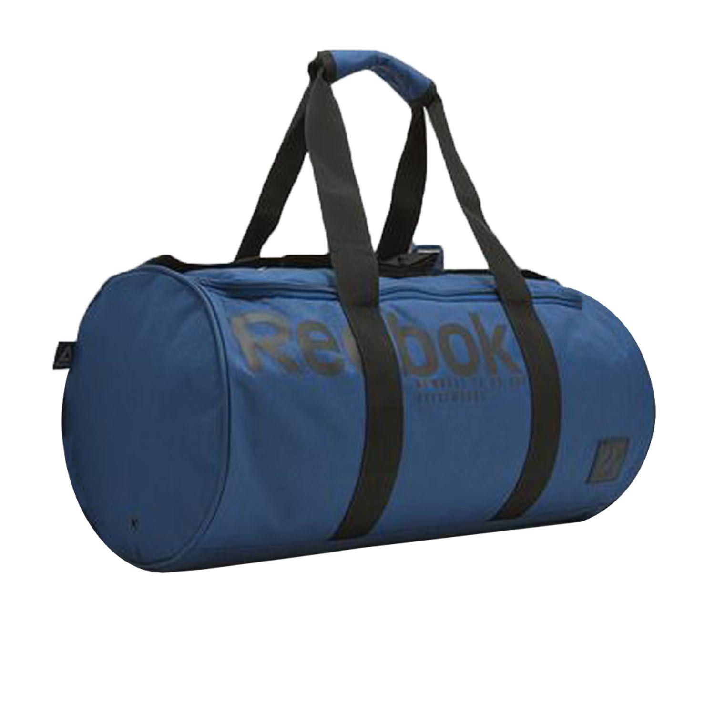 Reebok Blue Solid Duffle Bag - Buy Reebok Blue Solid Duffle Bag ... a3e1b835441a5