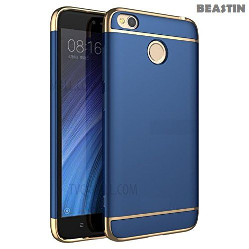 958a8f77d09f69 Xiaomi MI A1 Hybrid Covers BEASTIN - Blue 3 in 1 Hybrid All Side Protection  Matte Hard Case - Plain Back Covers Online at Low Prices