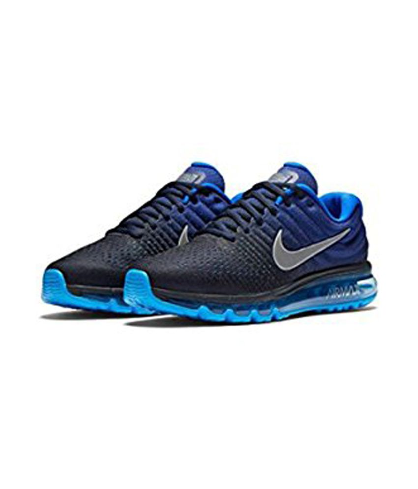 ... Nike Air Max 2017 Blue Running Shoes ...