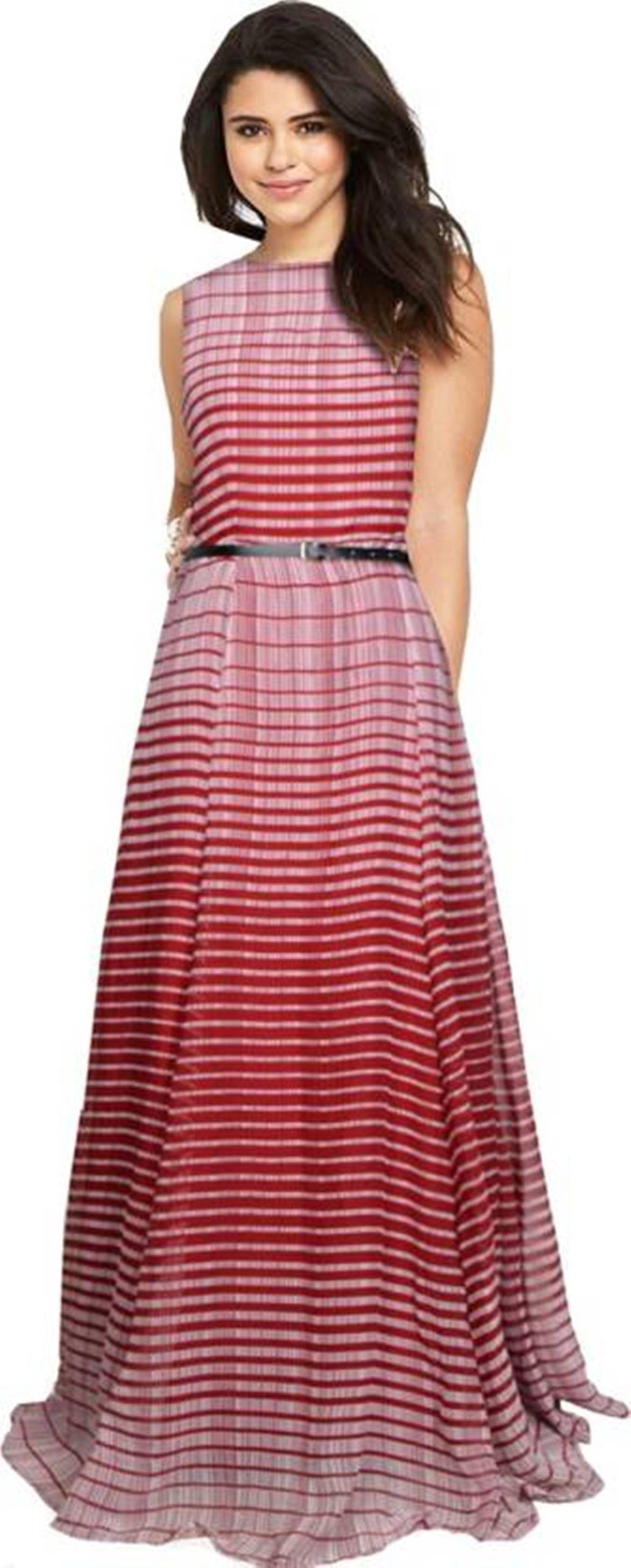 Nilkanth Georgette Multi Color Gown