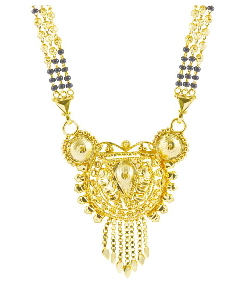 Rejewel Tremendous Mangalsutra Pendant For Traditional Look