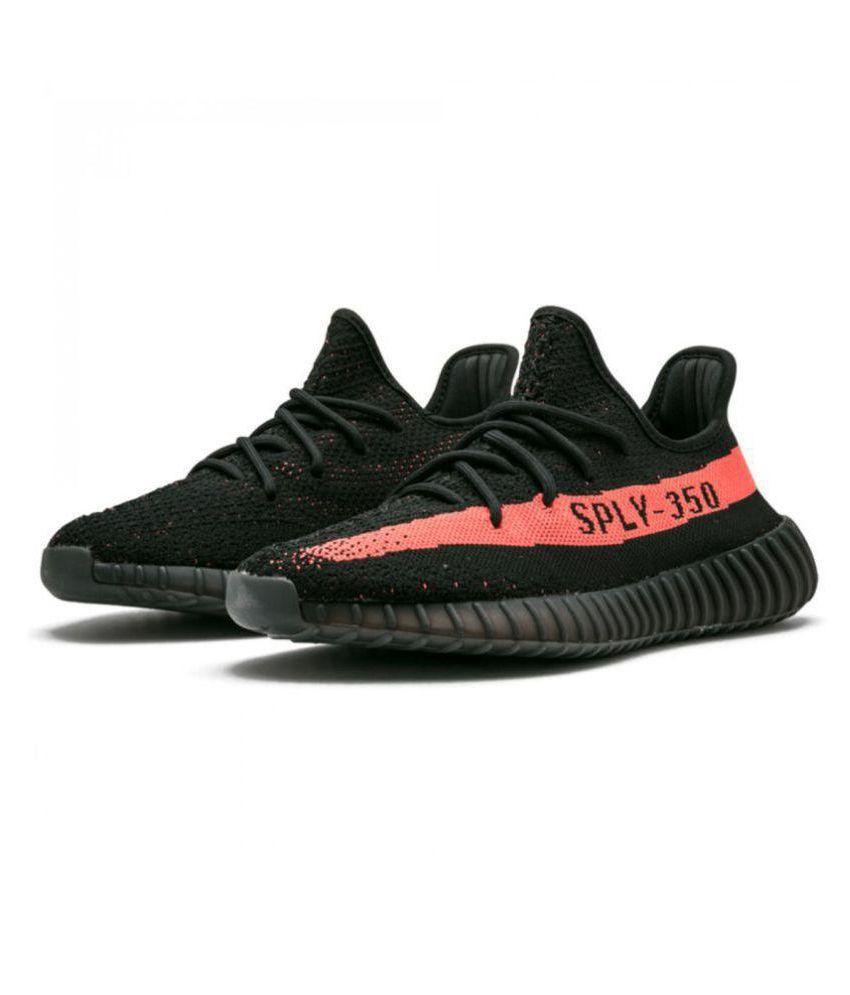 05c04d2c4e0aa4 Adidas Yeezy Spy 350 Black Running Shoes - Buy Adidas Yeezy Spy 350 ...
