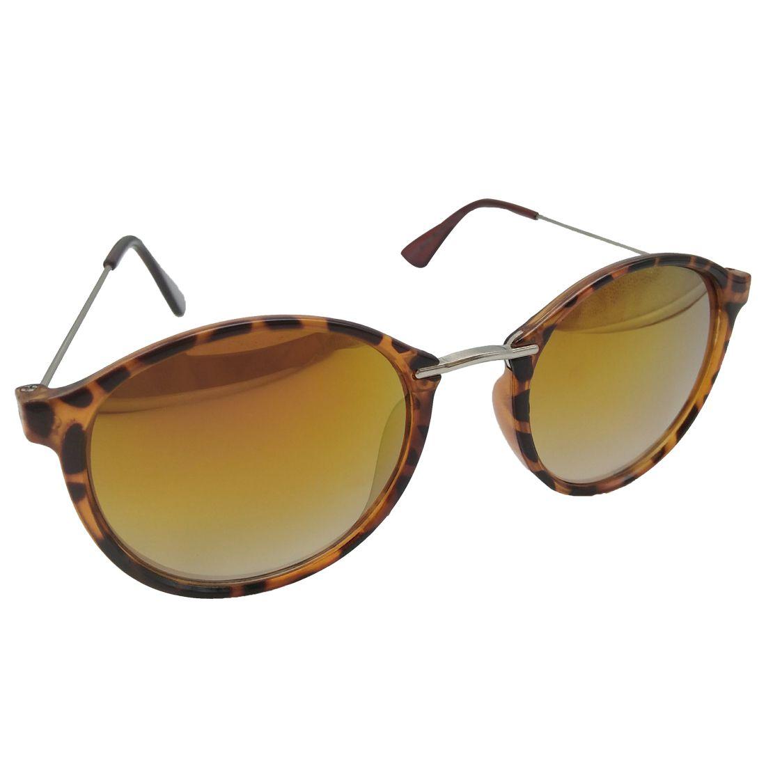 MWAYS Yellow Round Sunglasses ( 180528 )