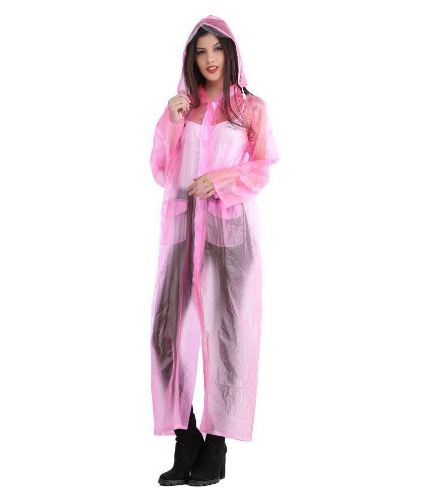 ELLIS Waterproof Raincoat Set - Pink