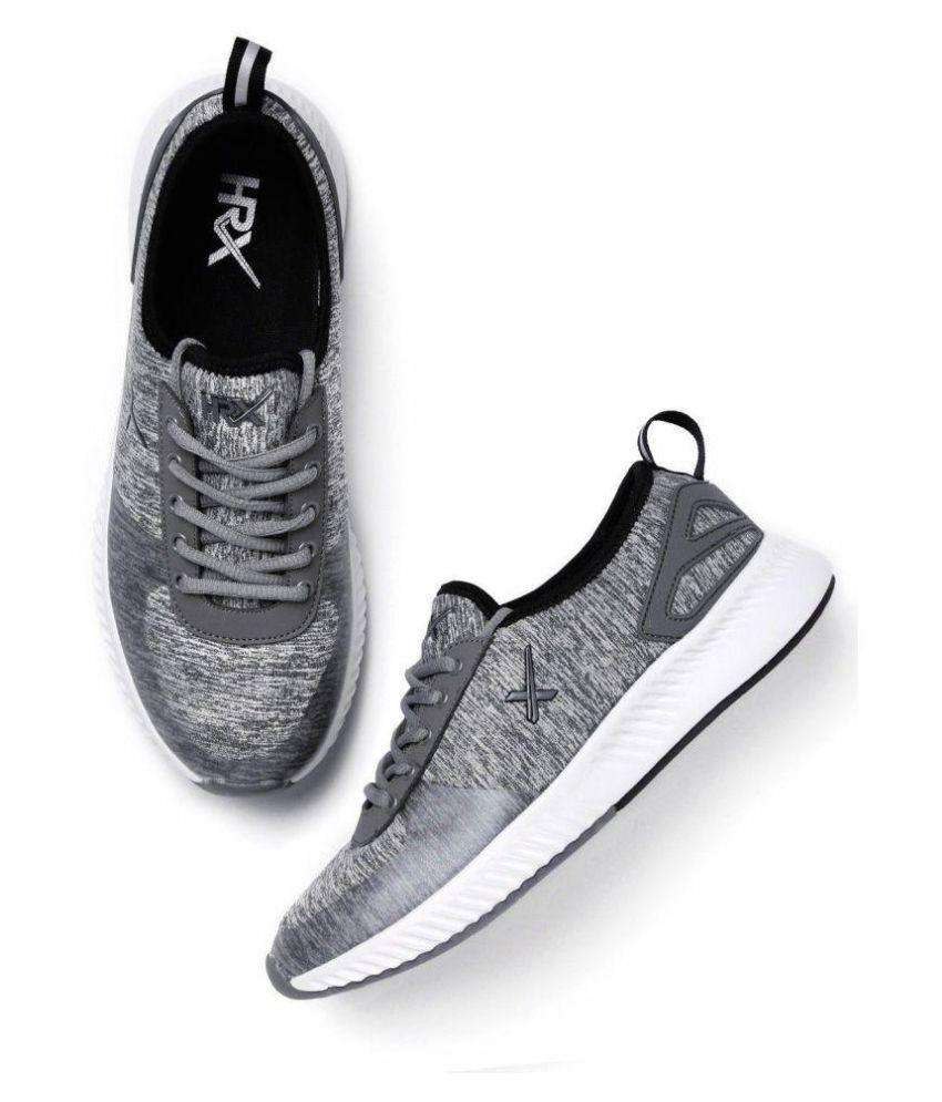 HRX Gray Running Shoes - Buy HRX Gray Running Shoes Online