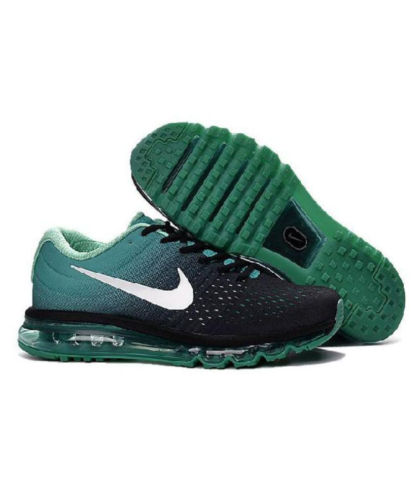 competitive price 28596 cf188 Nike Air Max 2017 Green Running Shoes