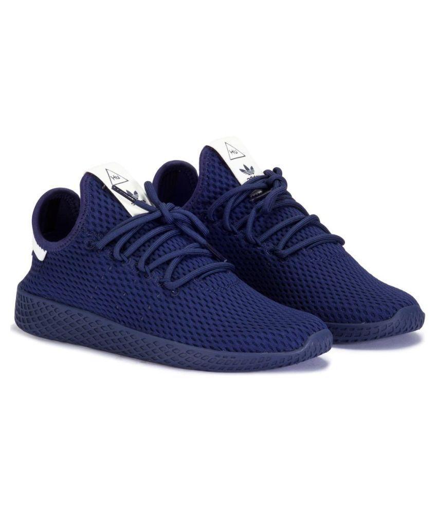 huge discount 35b6e 3eab1 Adidas Pharrell Williams HU Navy Running Shoes - Buy Adidas Pharrell  Williams HU Navy Running Shoes Online at Best Prices in India on Snapdeal