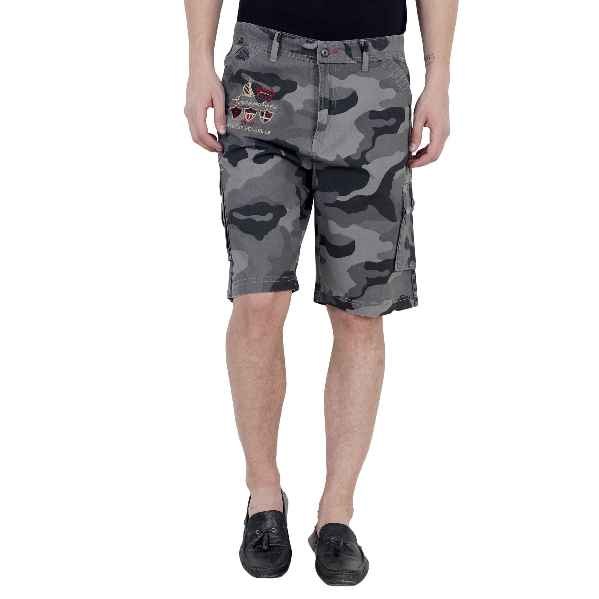 King Size Grey Shorts