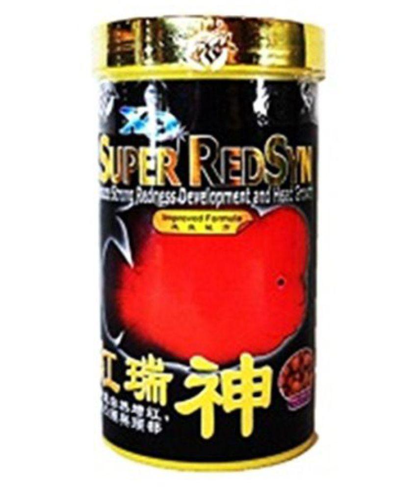 XO Ocean Free Super RedSyn For Flowerhorn Fish ( 100 G ) Genuine Product.