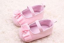 BABY GIRL PINK EARLY WALKER SHOES