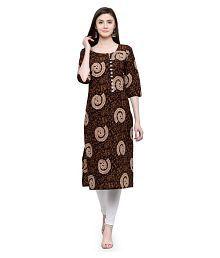 039181d0cbb Brown Kurtis  Buy Brown Kurtis Online at Best Prices in India on ...