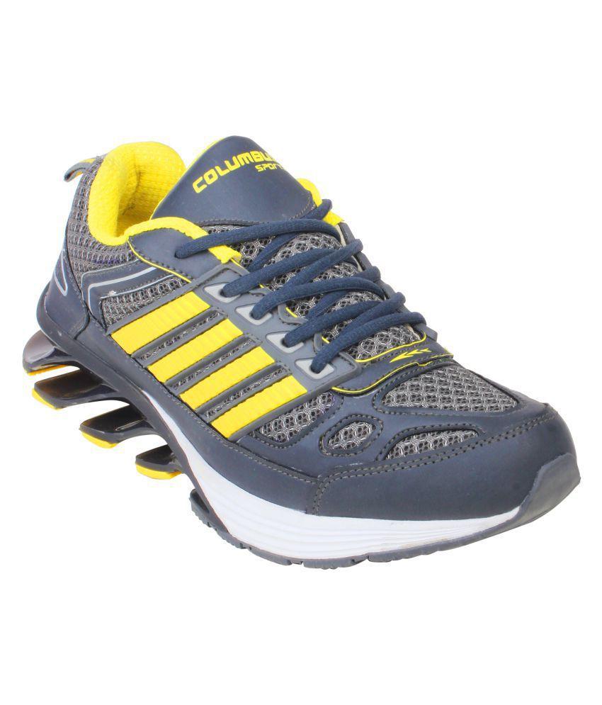 Columbus Blaze Gray Running Shoes