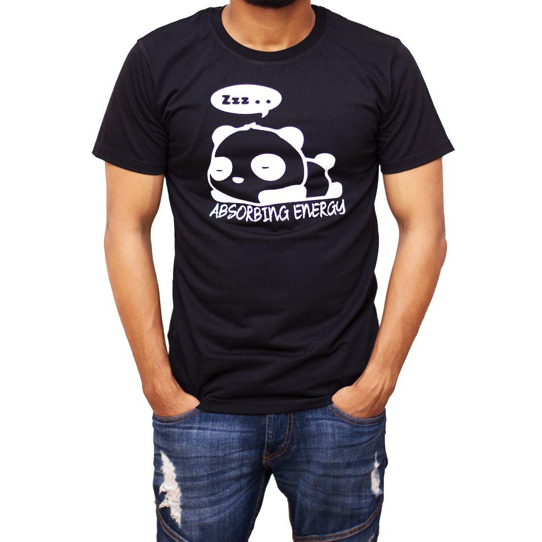 BongTees Black Round T-Shirt Pack of 1