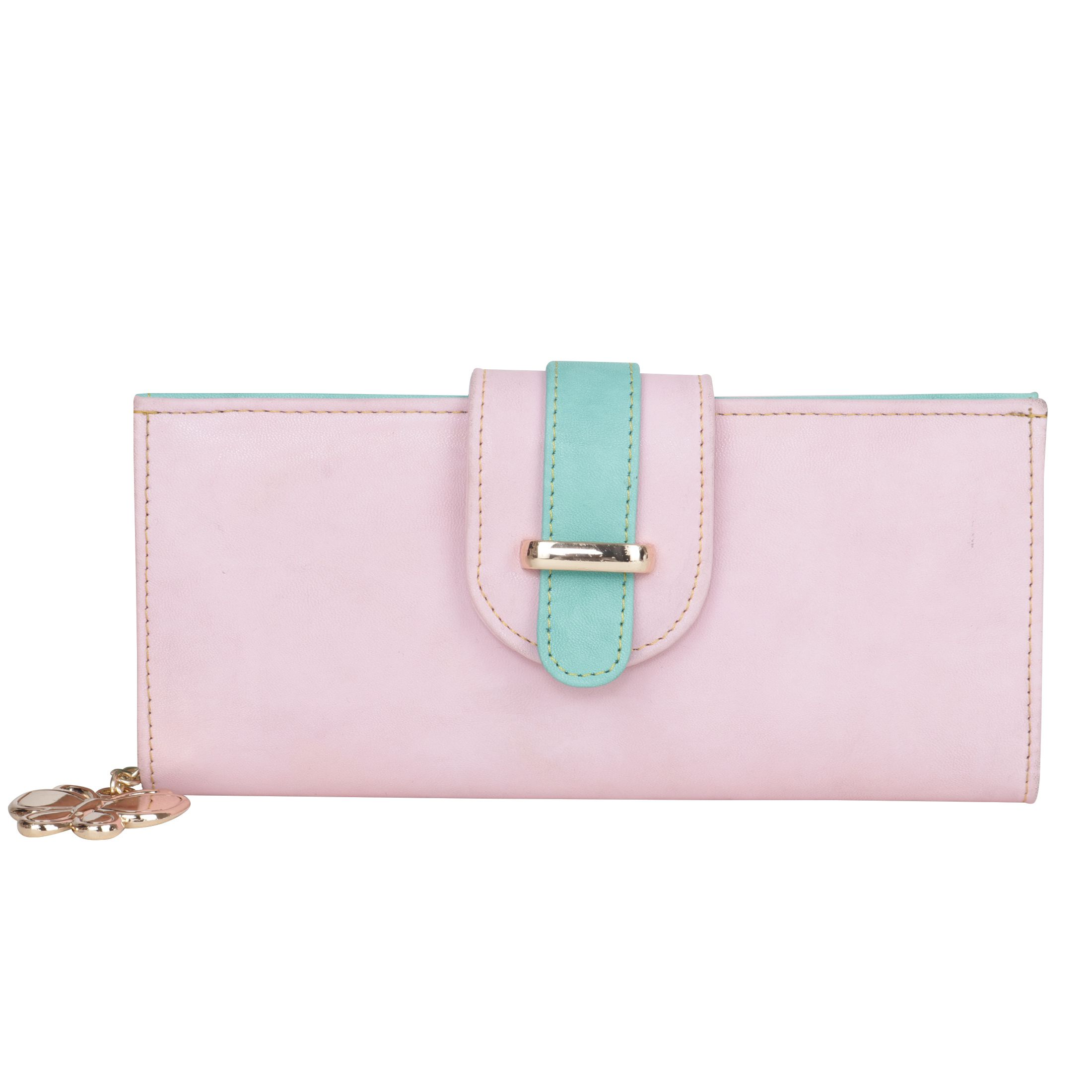 Butterflies Peachpuff Wallet