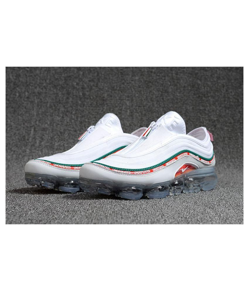 ea0c25c2828d2f Nike Air Max 97 UNDEFEATED BULLET White Running Shoes - Buy Nike Air Max 97  UNDEFEATED BULLET White Running Shoes Online at Best Prices in India on  Snapdeal