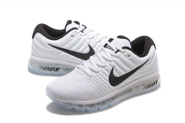 fd523a44ae8e2 Nike Airmax 2017 White Running Shoes Nike Airmax 2017 White Running Shoes  ...